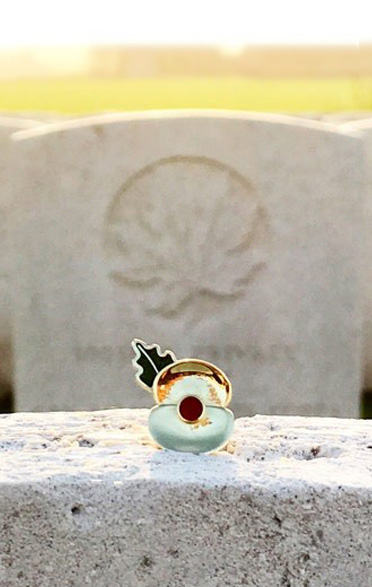 Commemorative Passchendaele Poppy